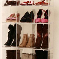 More Shoes than closet organizer | AcrylicDesignz - Furniture on ArtFire