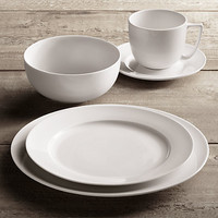 Chinese Porcelain Grand Rimmed Dinnerware White | Restoration Hardware