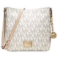 MICHAEL Michael Kors Handbag, Jet Set Travel Large Messenger Bag - Michael Kors Handbags - Handbags & Accessories - Macy's