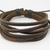 unisex bracelet leather bracelet simple by jewelrybraceletcuff
