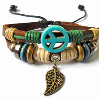 jewelry bangel bracelet Antiwar peace by jewelrybraceletcuff