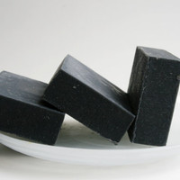 Activated Charcoal Facial Soap Bar  by ElegantRoseBoutique on Etsy