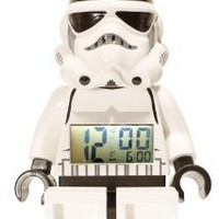 LEGO Kids&#x27; 9002137 Star Wars Storm Trooper Mini-Figure Alarm Clock