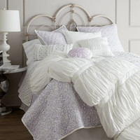 Morning Dove Bed Linens