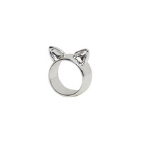 Kitty Ring | View All | Monki.com