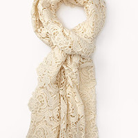 Crocheted Scarf | FOREVER 21 - 1076054049