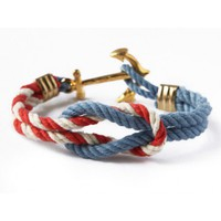 The Kennedy Compound Triton Knot Bracelet by Kiel James Patrick