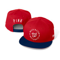 Washington Nationals Colorblock Baseball Hat - PINK - Victoria's Secret