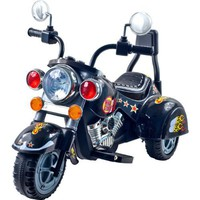 EZ Riders Harley Style Motorcycle Battery Operated - black