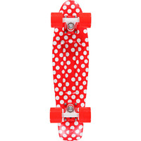 Penny Polka Dot Red & White 22.0 Cruiser Complete Skateboard at Zumiez : PDP