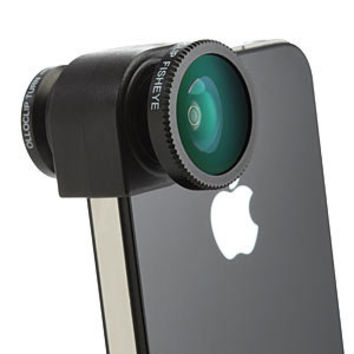 Olloclip iPhone Camera Lens System - 4-in-1 iPhone 5/5S Gray Lens