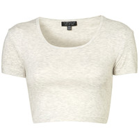 Crop Tee - Bralets & Cropped Tops - Jersey Tops - Clothing - Topshop USA