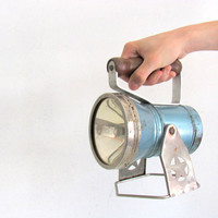 Mid Century Star Head Light Spot Light Flashlight Industrial Home Decor