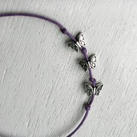 3 Little Butterfly Bracelet