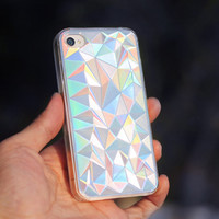 3D Laser Crystal Case For iPhone 4/4S