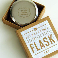Round Flask - C.S. Post & Co.