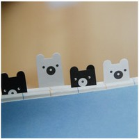 Bear Index Sticky Note | MochiThings.com