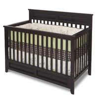 Child Craft Logan Lifetime Convertible Crib, Jamocha