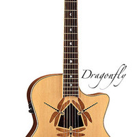 Luna Guitars - Oracle Dragonfly