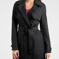 GUESS by Marciano | Women's Outerwear | Shop The Winter 2011 Collection: Talia Trench