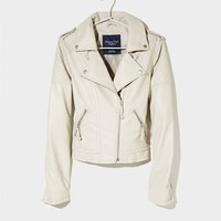 AE Vegan Leather Moto Jacket | American Eagle Outfitters