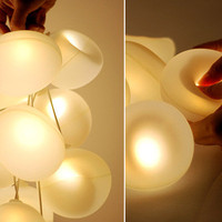 Dynamic D Light Bubbles by Diana Lin