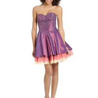 ideeli | DAVE AND JOHNNY Beaded Bodice Party Dress