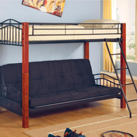 Gillette Twin over Futon Bunk Beds