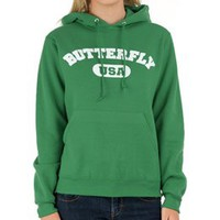 1Line Sports Butterfly Sweatshirt at Swimoutlet.com