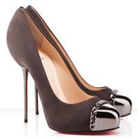 Christian Louboutin Metalipp 120mm Suede Pumps Africa - $144.00