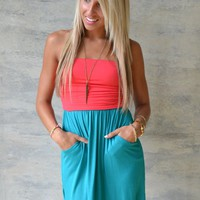Piace Boutique - She's A Catch Dress in Dresses