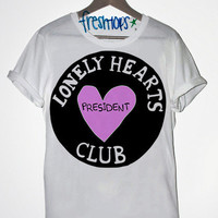 Lonely Hearts CLub Tshirt | fresh-tops.com