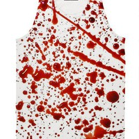 ☮♡ Blood Spatter Tank ✞☆