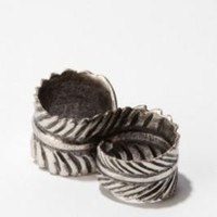 UrbanOutfitters.com > Double Feather Ring