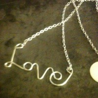 Love necklace sterling silver mother's day special