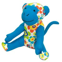 Color Zoo Mica the Monkey Stuff Animal - Color Splash