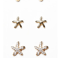 Papaya Clothing Online :: STARFISH EARING SETS