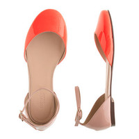 Girls' Coraline patent flats - flats & moccasins - Girl's shoes - J.Crew