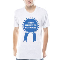 Most Likely To Not Care T-Shirt - Jawbreaking