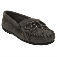 Minnetonka Kilty Suede Moccasin at Von Maur