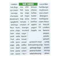 Grocery List Magnets by Magnetic Poetry