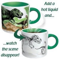 The Disappearing Dinosaur Mug