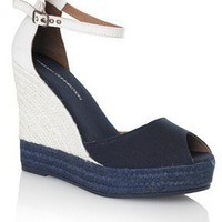 MORGAN ANKLE STRAP WEDGES - Shoes - French Connection Usa