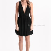 all about layers dress/top - black at Esther Boutique