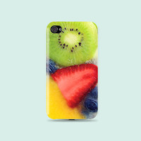 Summer Fruity Ice Cream Plastic Hard Case - iphone 5 - iphone 4 - iphone 4s - Samsung S3 - Samsung S4 - Samsung Note 2