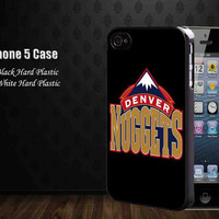 Denver Nuggets Logo,Iphone 5 case,accesories case,cell phone
