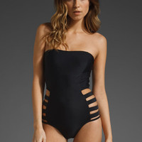 6 SHORE ROAD Contadora One Piece in Negra at Revolve Clothing - Free Shipping!