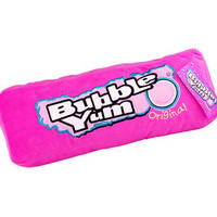 Mini Plush Bubble Yum Gum Pink Candy Pillow | CandyWarehouse.com Online Candy Store