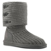 Bearpaw Knit Sweater Boot