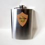 Happy Camper 8oz Stainless Steel Flask by withcaregoods on Etsy